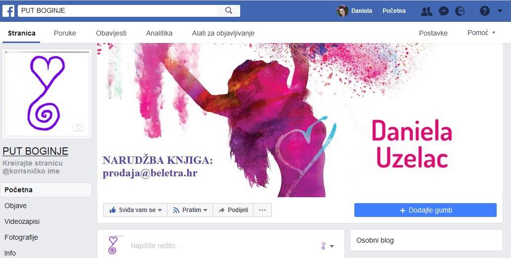 Milijun pregleda Boginje na Facebooku